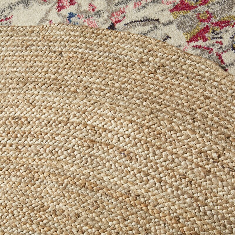 Charlton Home Chatham Hand Woven Wool Light Tan Area Rug