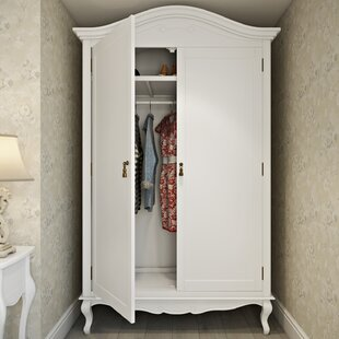 Lemaire 2 Door Wardrobe By Lily Manor