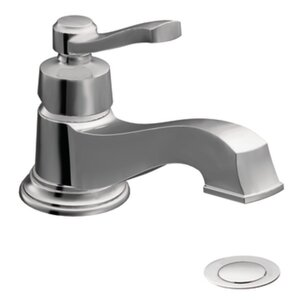 Rothbury Single Hole Low Arc Bathroom Faucet with Drain