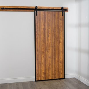 Terra Solid MDF Panelled Interior Barn Door & 5 Foot Wide Barn Door | Wayfair