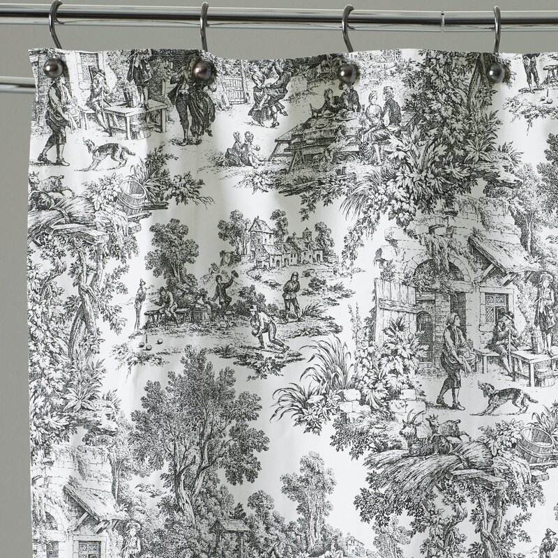 martinkeeis.me] 100+ Black Toile Shower Curtain Images ...