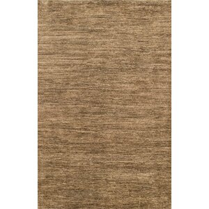 Transo Hand-Woven Dark Brown Area Rug