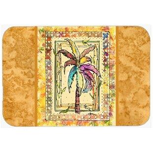 Palm Tree Kitchen Bath Mat
