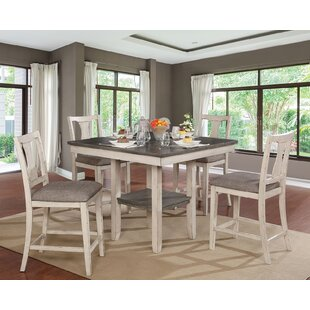 Truman 5 Piece Counter Height Dining Set