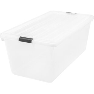 Gentil 91 Qt Buckle Down Storage Box