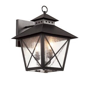 Chimney Vented 2 Light Outdoor Wall Lantern