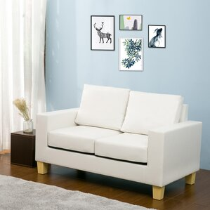 Seda Modern Loveseat by La..