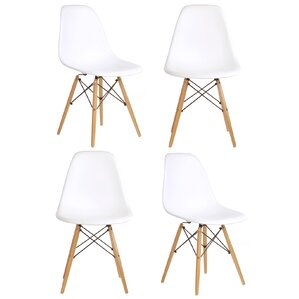 Harrison Solid Wood Dining Chair (Set of 4) by Langley Street