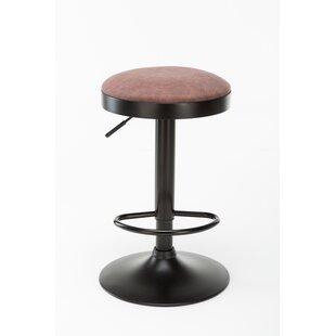 Astonishing Backless Upholstered Adjustable Bar Stools Youll Love Wayfair Andrewgaddart Wooden Chair Designs For Living Room Andrewgaddartcom