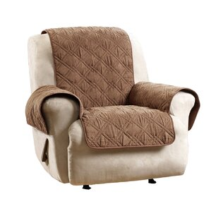 Deluxe Box Cushion Recliner Slipcover by Sur..
