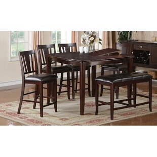 Kaneshiro 6 Piece Counter Height Dining Set