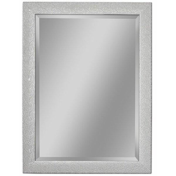 Rosdorf Park Beveled Rectangle Bathroom Vanity Wall Mirror Reviews
