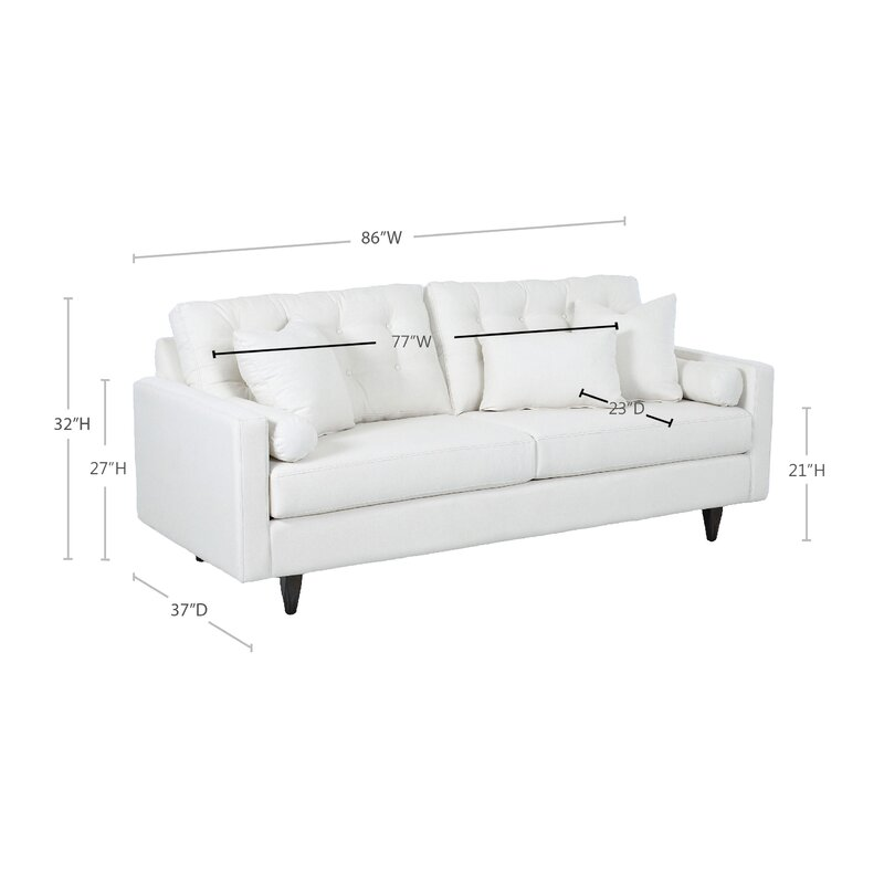 wayfair custom upholstery harper sofa reviews wayfair