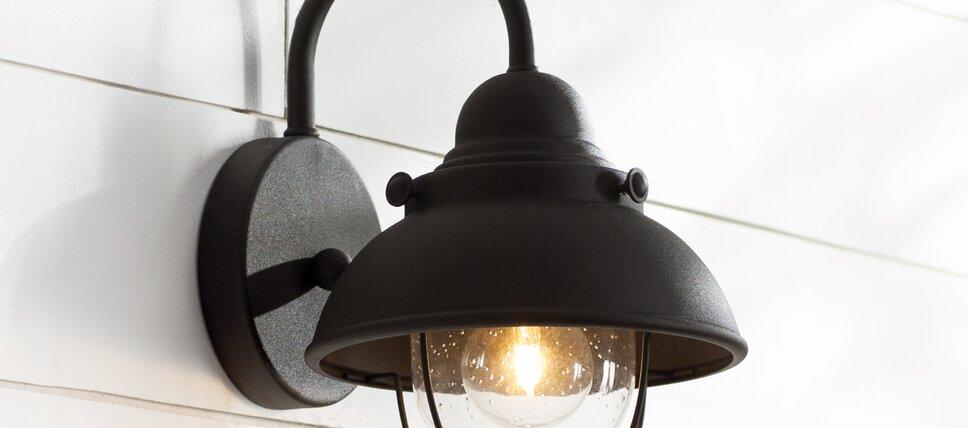 Modern outdoor lighting allmodern modern barn lights aloadofball Choice Image