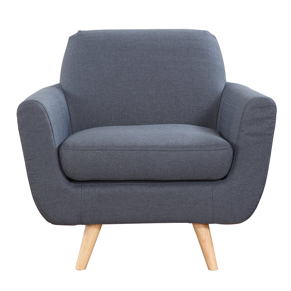 Madison Home Usa Mid Century Modern Accent Armchair