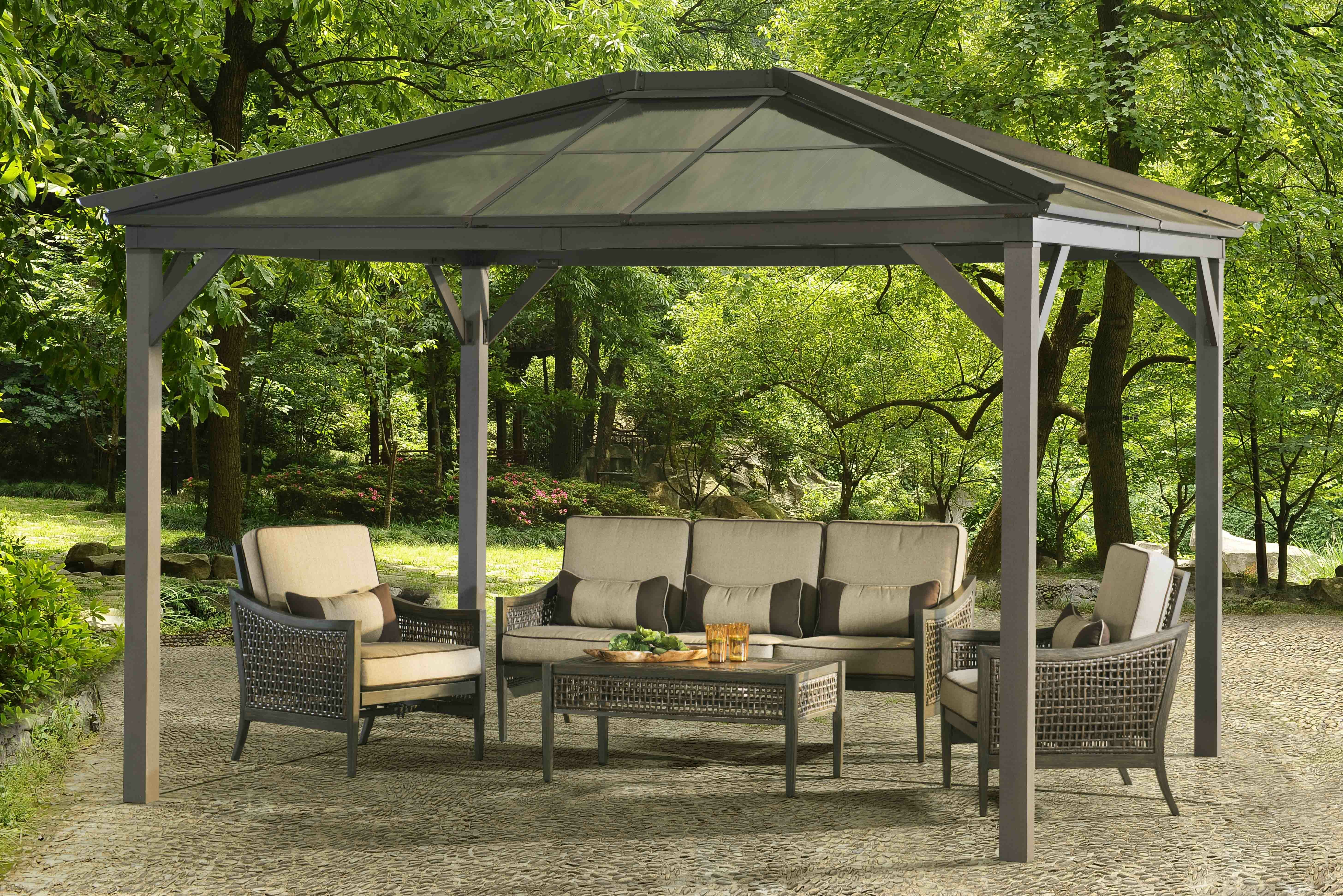 festival home ft backyard hayneedle decoration canopy patio x outdoor tent gazebo coral coast gallery