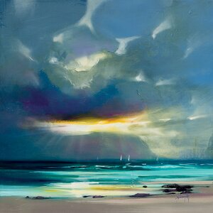 'West Coast Blues II' Painting Print