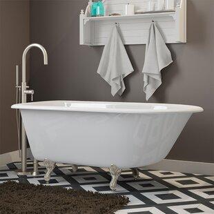 55 X 30 Clawfoot Bathtub In Deck Mount
