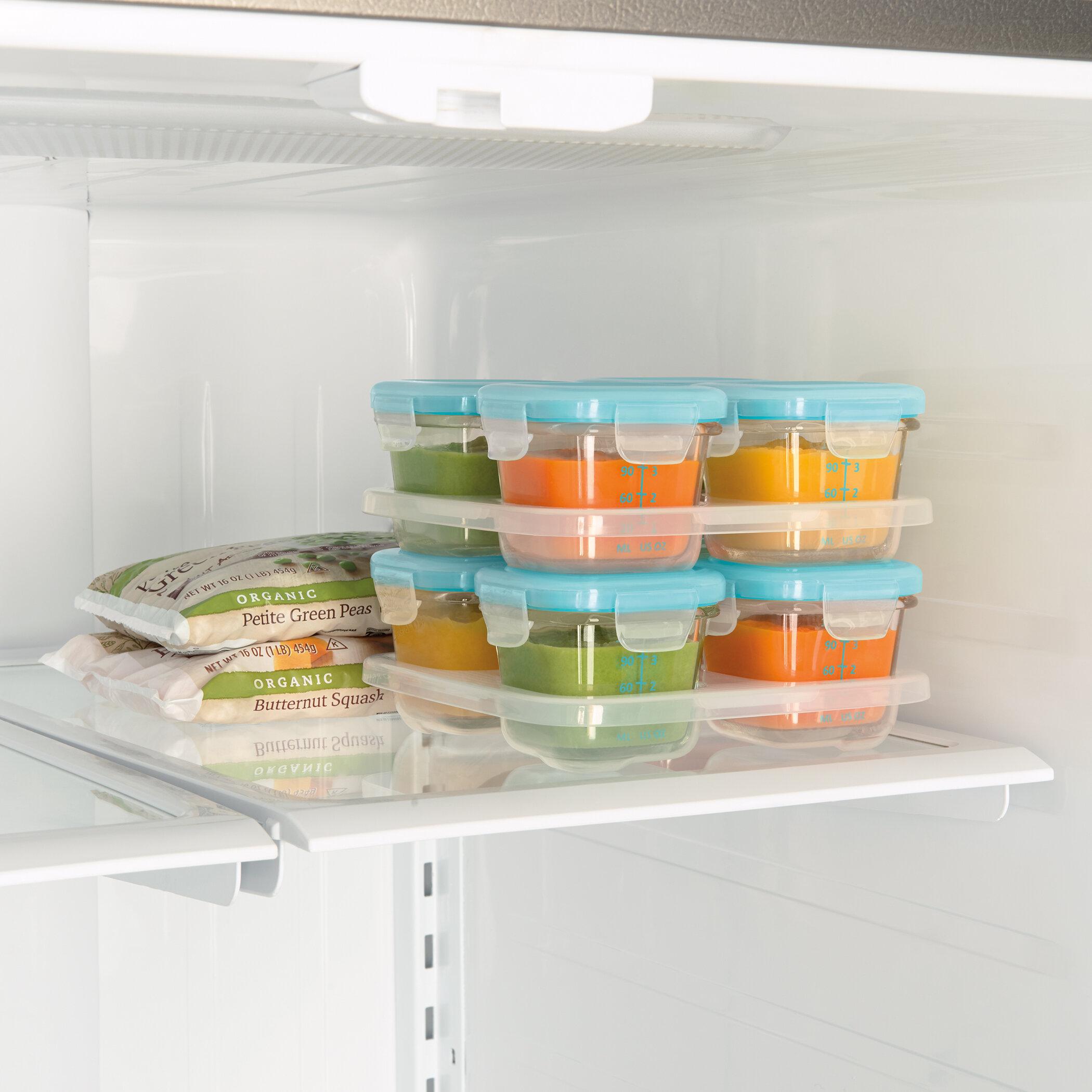 & OXO Tot Glass Baby Block 4 Container Food Storage Set | Wayfair