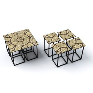 Saldanha End Table (Set of 4) by Deeco