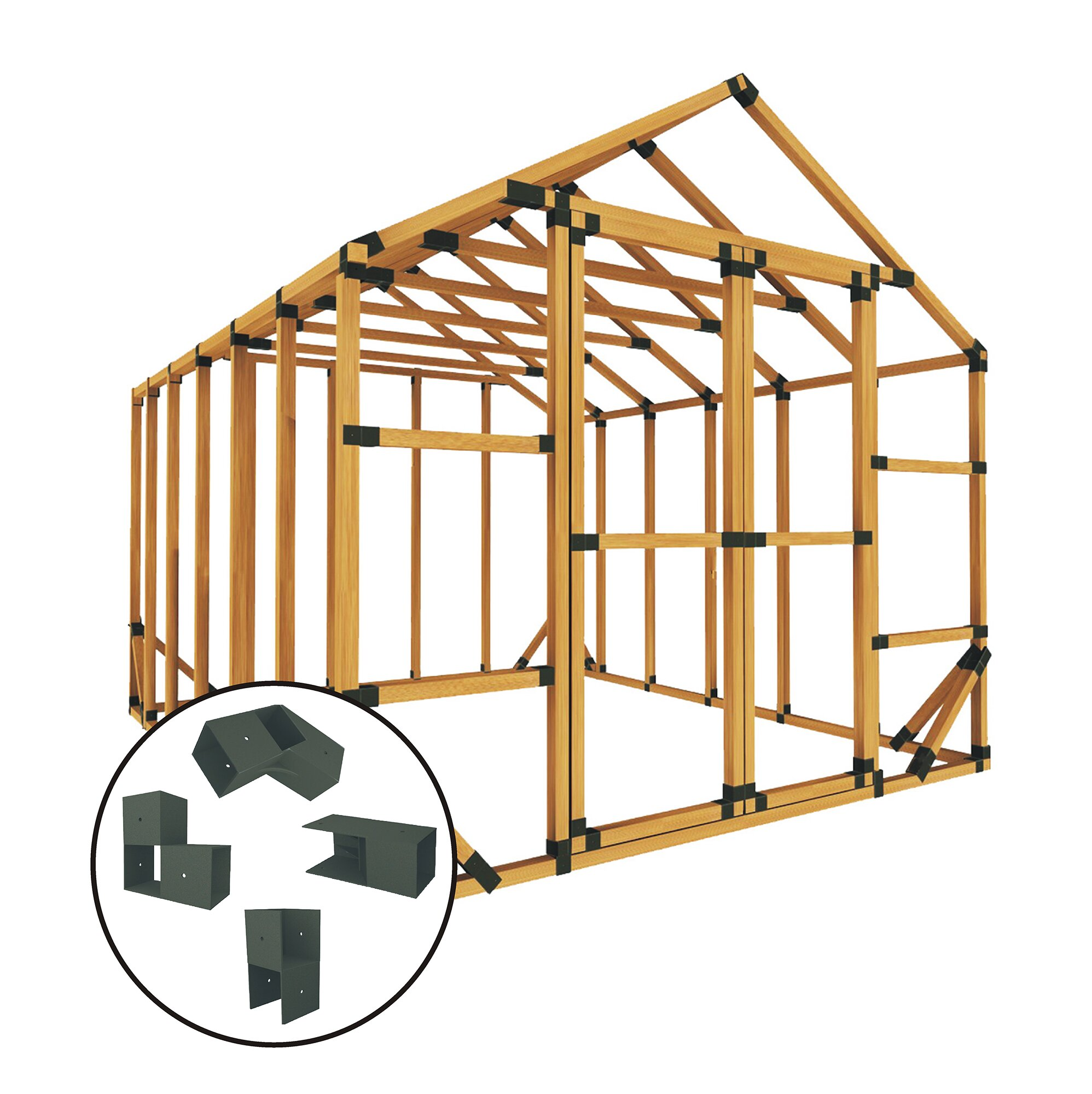 10 Ft  W x 12 Ft  D Hobby Greenhouse