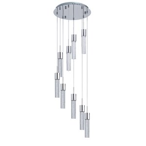 Saturn 9-Light LED Pendant