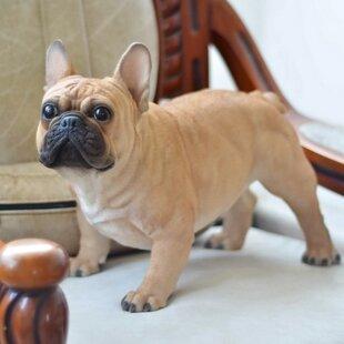 Dog French Bulldog Statue