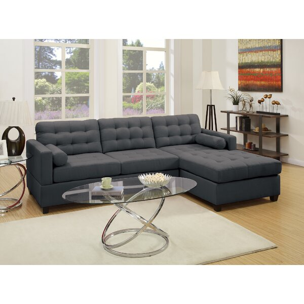 A&J Homes Studio Beverly Sectional & Reviews