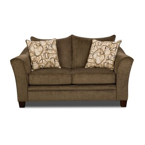 Simmons Upholstery Bensenville Loveseat by Red Barrel Studio