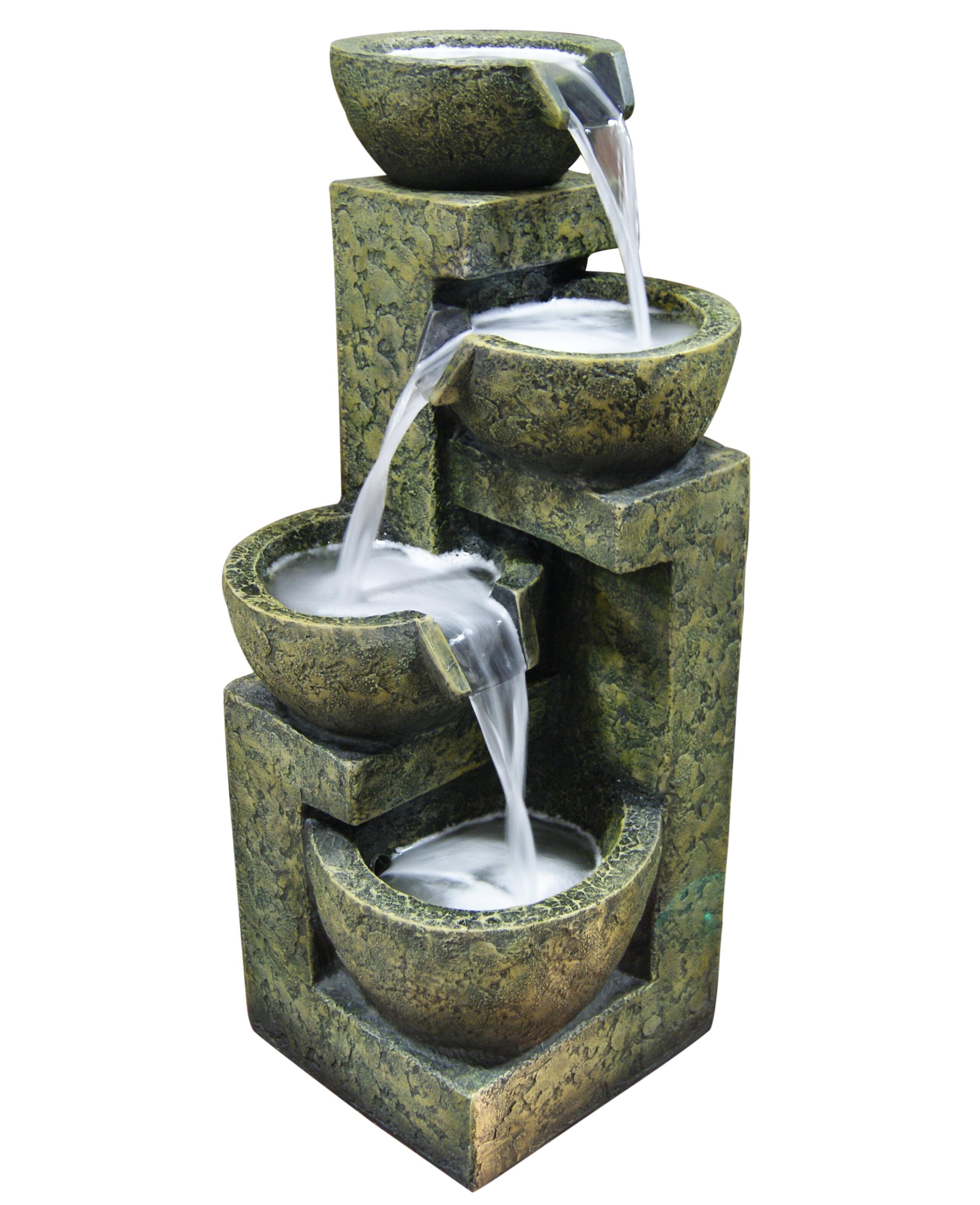 Superbe Alpine Fiberglass/Polystone Three Tier Water Fountain U0026 Reviews | Wayfair