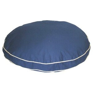 Cornelius Twill Classic Round Dog Pillow