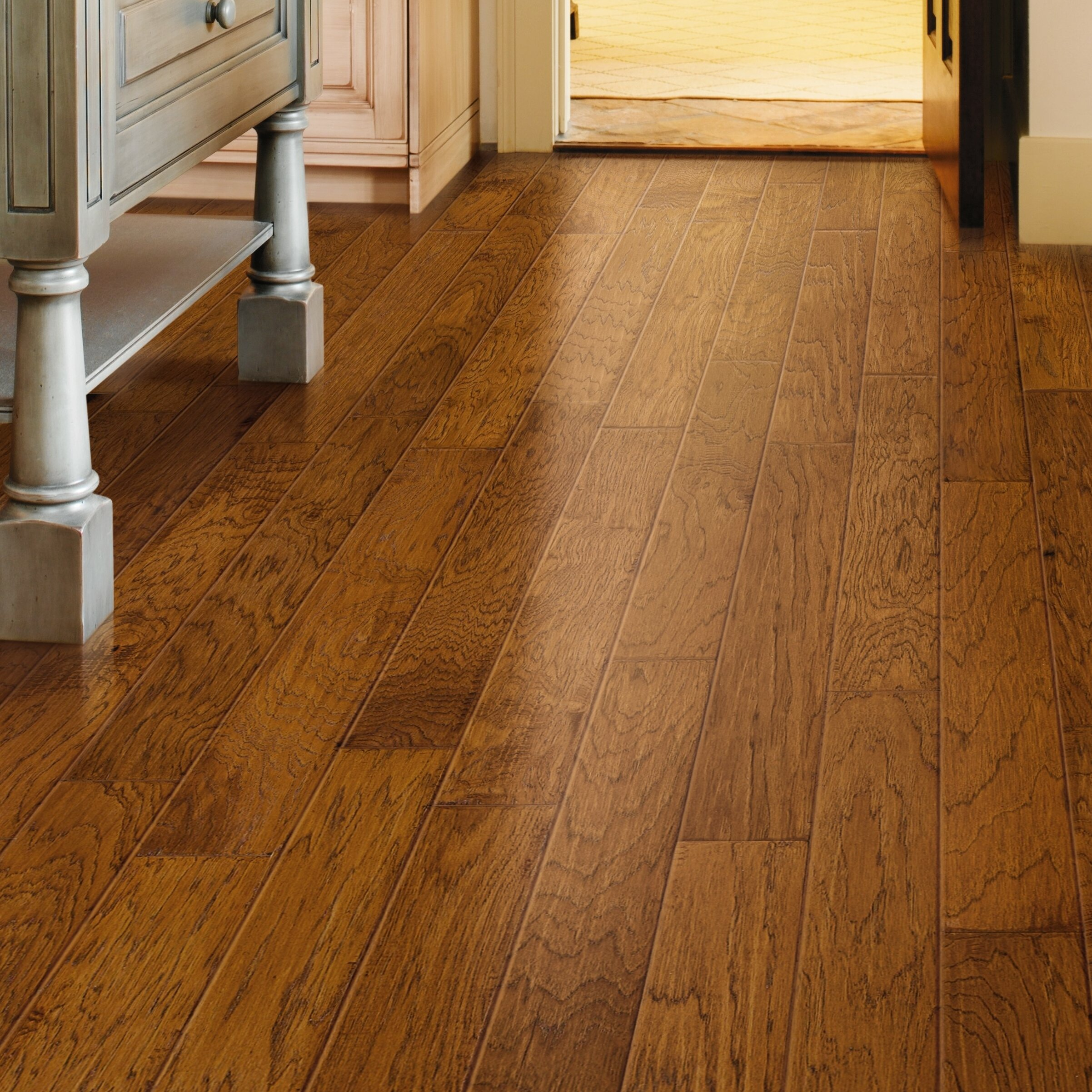 floor hickory kinsey floors flooring grade hardwood character