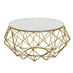 Charmant Diamond Wire Coffee Table