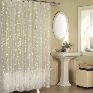 Temples Ivy Vinyl Single Shower Curtain