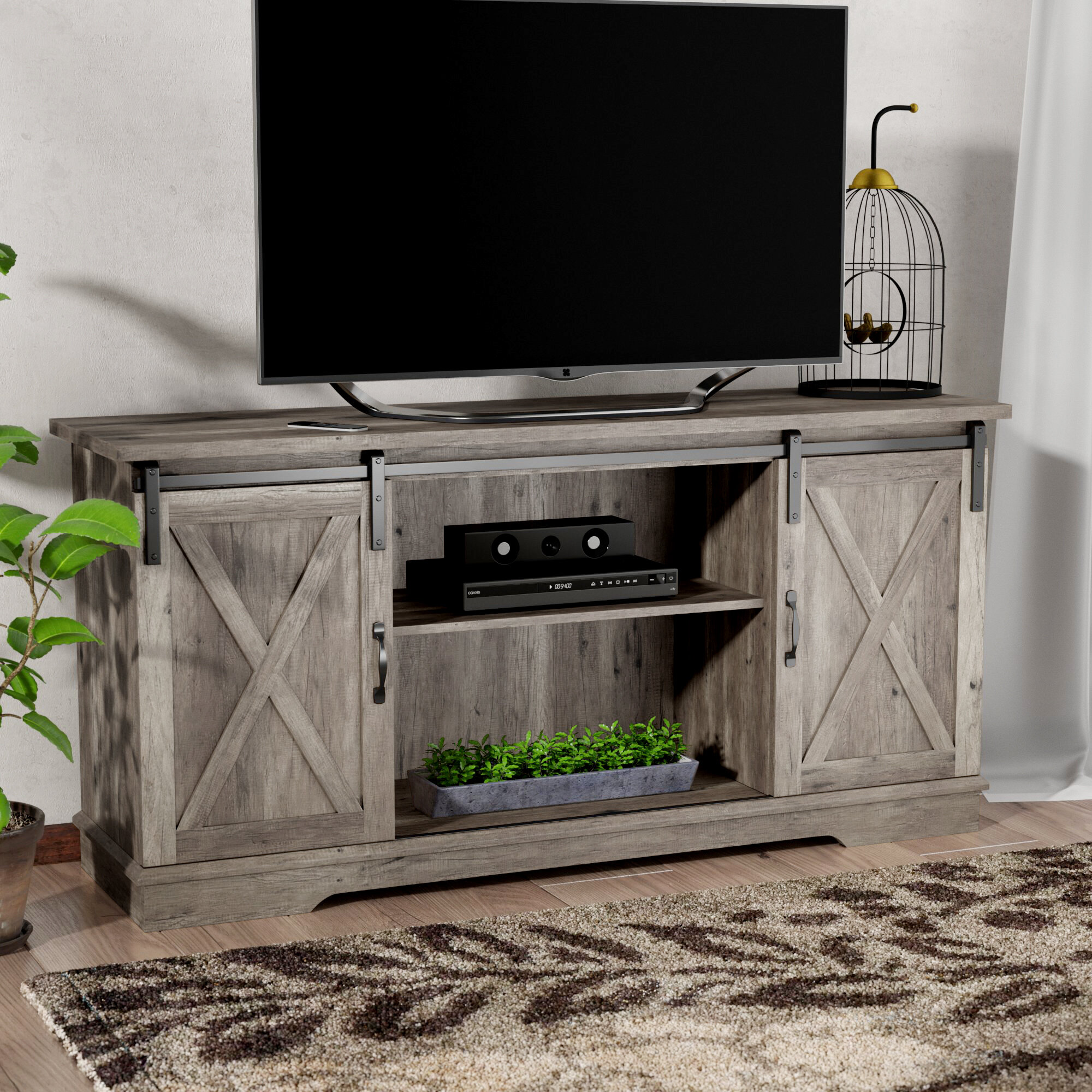 Gracie Oaks Tova Tv Stand For Tvs Up To 65 Reviews Wayfair