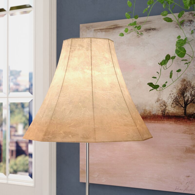 Alcott hill faux leather bell lamp shade reviews wayfair faux leather bell lamp shade aloadofball Image collections
