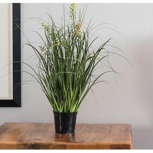 artificial flowers in pots | wayfair