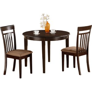 Bosca 3 Piece Dining Set by East West Fur..