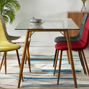Minimalista Glass Dining Table by VERSANORA