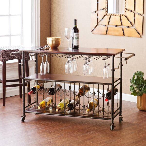 Wildon Home Dalton Bar Cart Reviews Wayfair