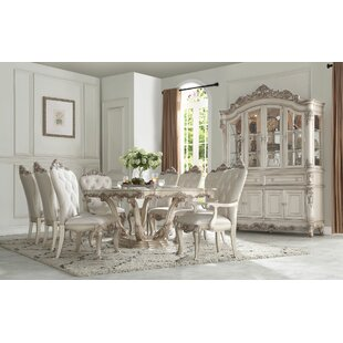 Gayle 9 Pieces Extendable Dining Set