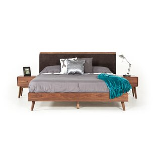 Tanya Mid Century Upholstered Bed