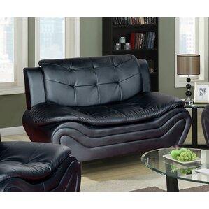 Ethel Modern Living Room Loveseat by PDAE Inc.