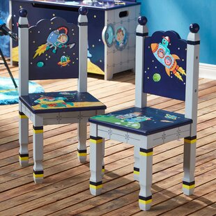Chiang 2 Piece Outer Space Children's Desk Chair Set by Zoomie Kids