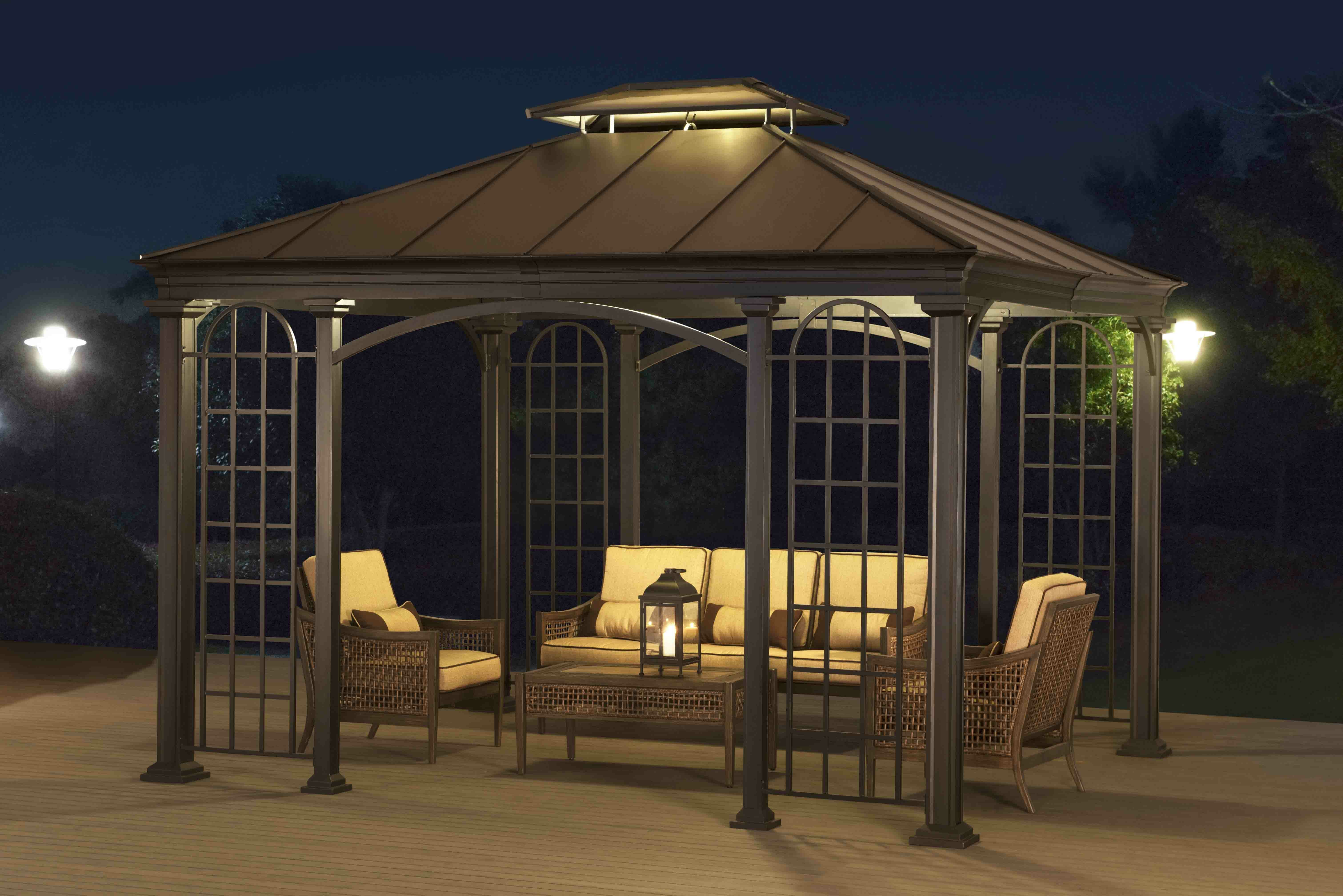 tier replacement from cover garden universal for patio top single winds riplock gazebo canopy p