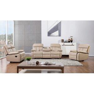 Dunbar 3 Piece Living Room Set  sc 1 st  Wayfair & Reclining Living Room Sets Youu0027ll Love islam-shia.org