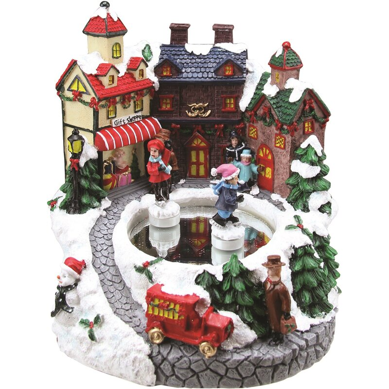 The Holiday Aisle Animated Victorian Street Quot Gift Shoppe