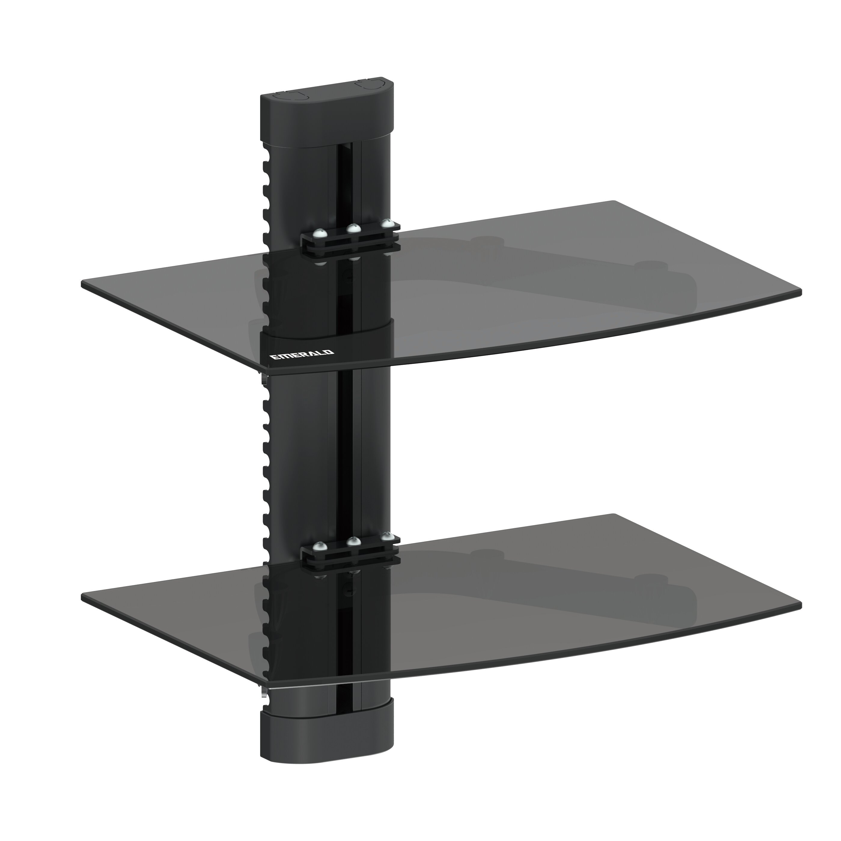 GForce Emerald Double Shelf Wall Mount U0026 Reviews | Wayfair