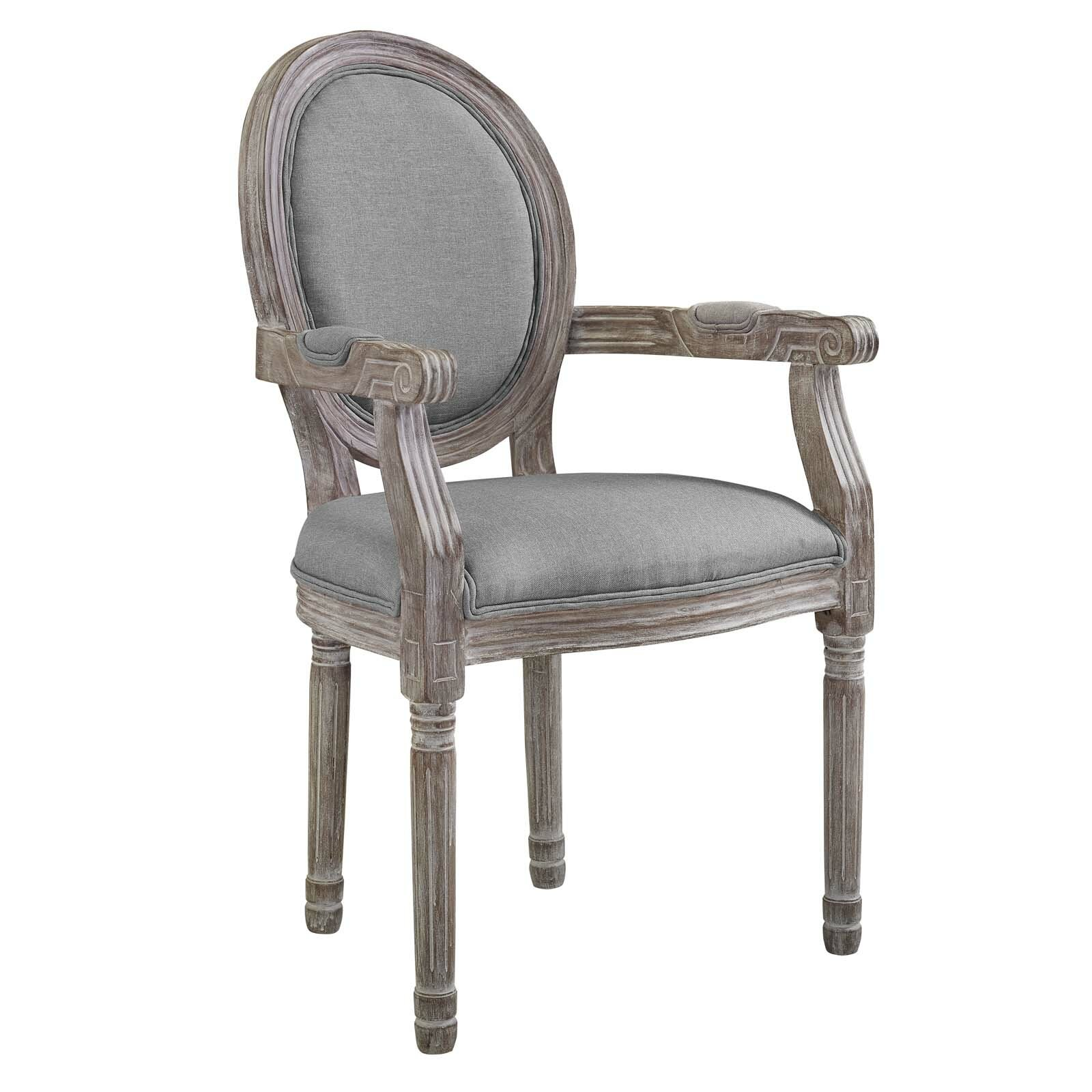 Vicente vintage french upholstered dining chair wayfair