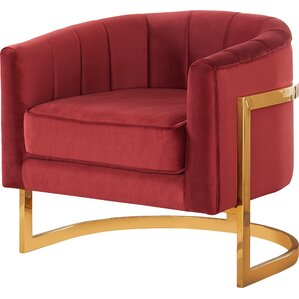 gold red accent chairs you'll love   wayfair